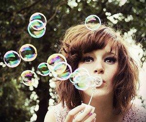 beautiful, bubbles, and fun image