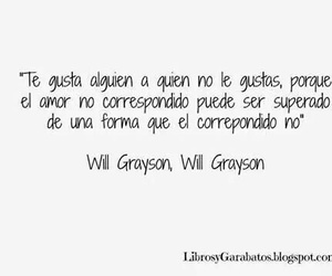 will grayson, frases, and love image