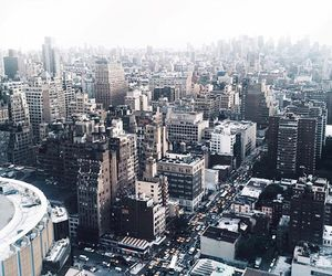 blonde, city, and nyc image