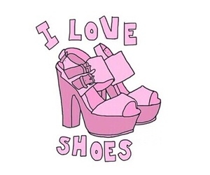 shoes, love, and overlay image