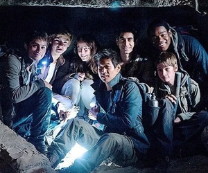 the maze runner, thomas, and the scorch trials image