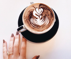 coffee, nails, and food image