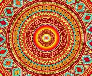 wallpaper, background, and mandala image