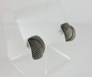 etsy, gift idea for her, and mesh earrings image