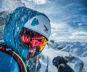 nature, ski, and snow image