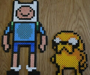 finn, adventure time, and hama image