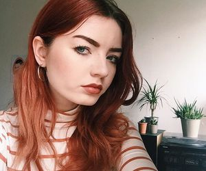 alternative, model, and dyed hair image