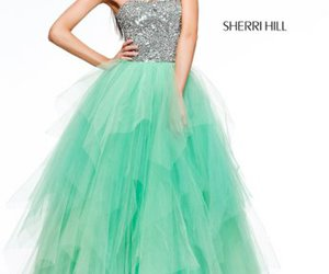 sequins prom dress and sherri hill 11085 image