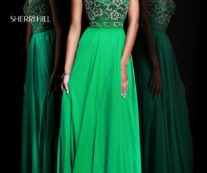 sherri hill 8545 and evening gown beads image