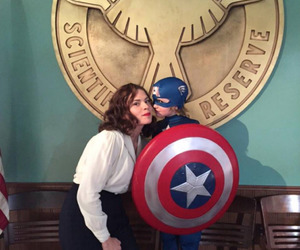 agent carter, captain america, and Marvel image