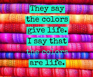 colors, easel, and quotes image