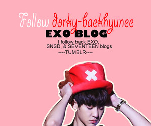 Chen, exo, and follow image
