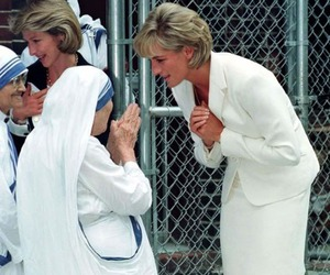 mother teresa, princess diana, and diana image