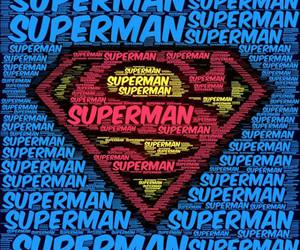 superman, wallpaper, and blue image