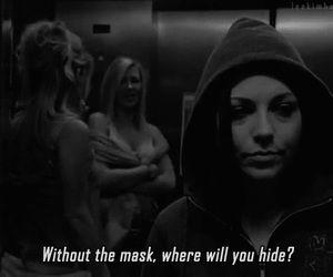 amy lee, evanescence, and mask image