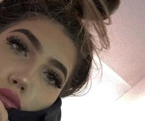 hair, eyebrows, and girl image