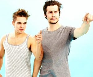 dylan o'brien, teen wolf, and dylan sprayberry image