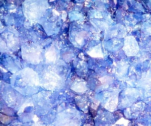crystals, blue, and beautiful image