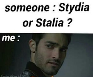 sterek, teen wolf, and stydia image
