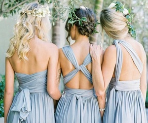 bridesmaid, chic, and vintage image