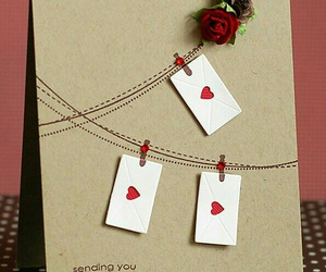 card and roses image