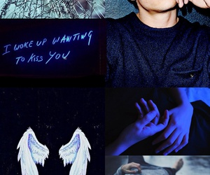 background, blue, and crush image