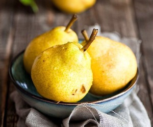 fruit, healthy, and pears image