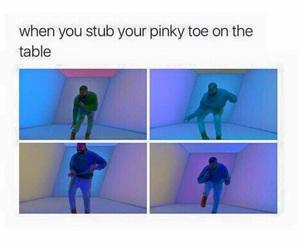 funny, Drake, and pinky toe image