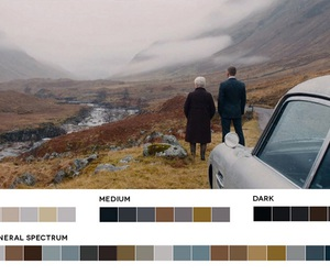 cinematography, movies, and color palette image