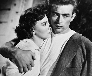 james dean, natalie wood, and rebel without a cause image