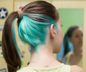 colorful, fashion, and hair style image