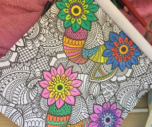 art, happy, and colors image