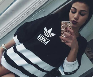 accessories, adidas, and girl image