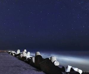 beautifull, latvia, and night image