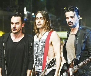 jared leto, shannon leto, and tomo milicevic image
