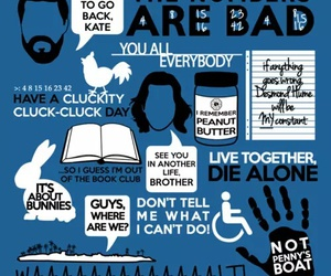 ABC, lost, and quotes image