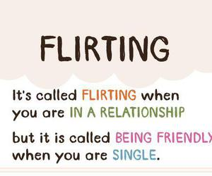 flirting, quote, and Relationship image