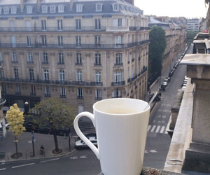 coffee, city, and view image