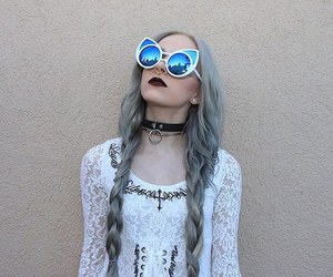 girl, alternative, and dyed hair image