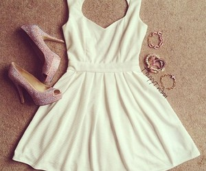 beauty, cool, and dress image