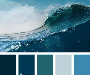 blue, color palette, and deep image