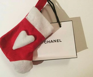 chanel, red, and white image