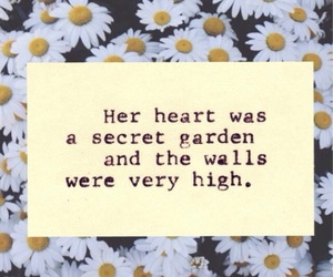 quotes, heart, and flowers image