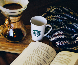 book, cup, and white image