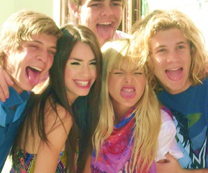 teen angels, peter lanzani, and casi angeles image