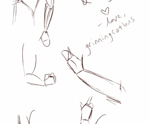 art, drawing, and how to draw hands image