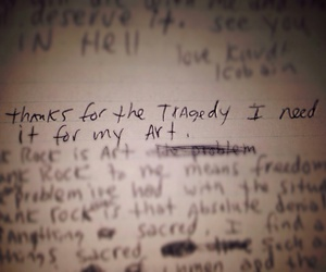 sad, grunge, and journal image