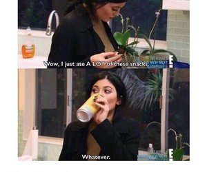kylie jenner, funny, and food image