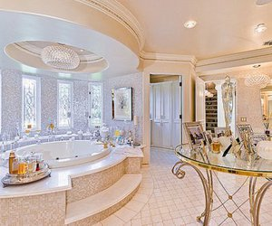 bathroom, luxury, and architecture image