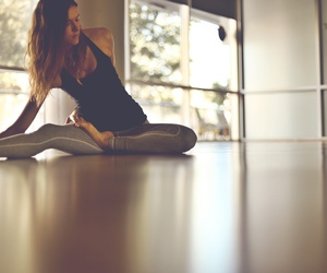 healthy, fitness, and yoga image